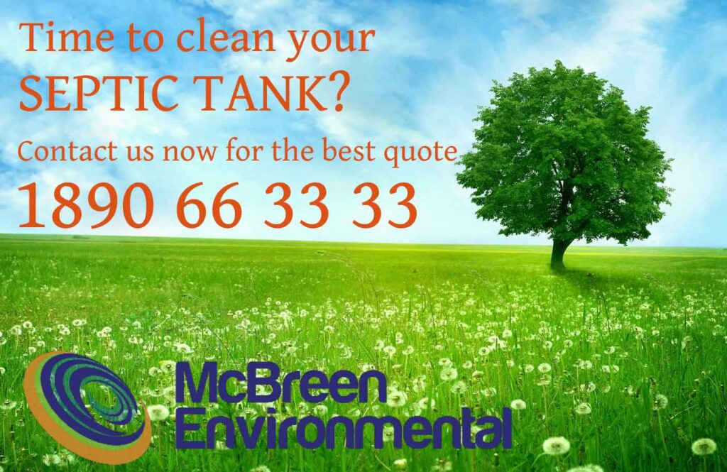Time to clean your septic tank?