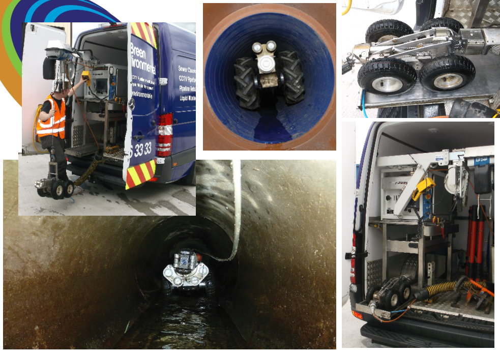 CCTV camera drain survey