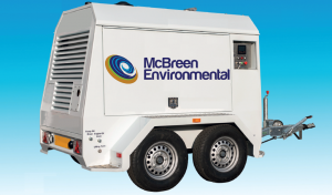 McBreen Environmental's new Ultra High Pressure (UHP) Hydroblasting Service